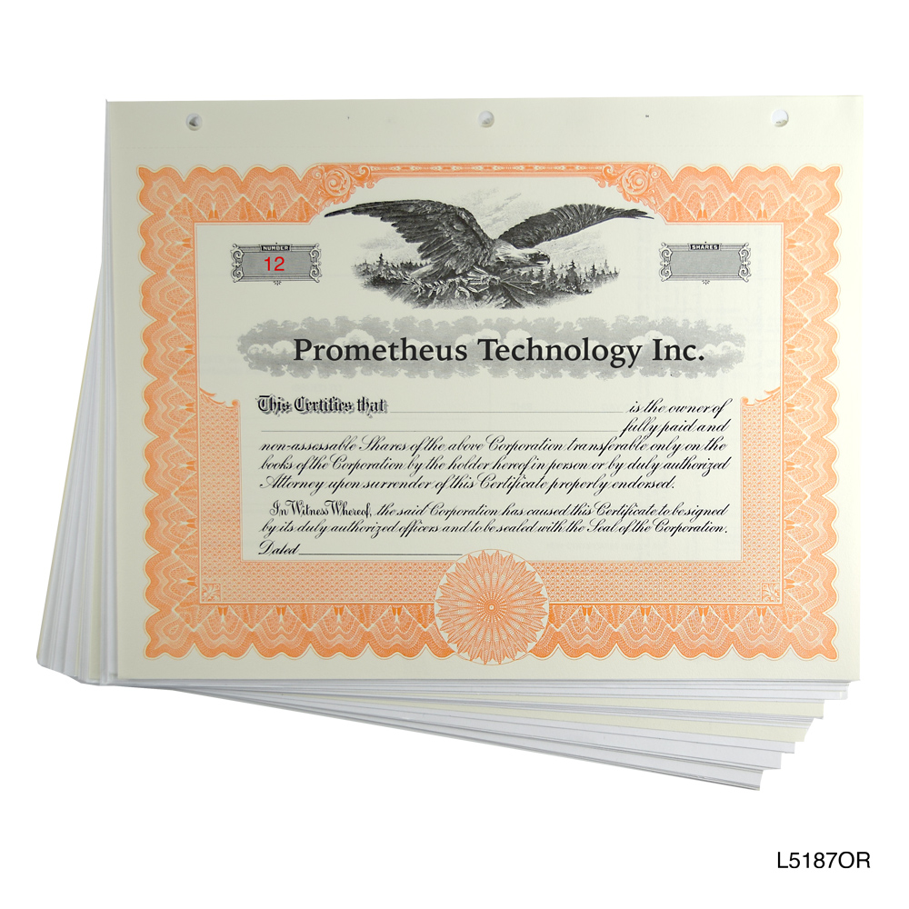 Loose blank stock certificates with stubs blank stock certificates loose yelopaper