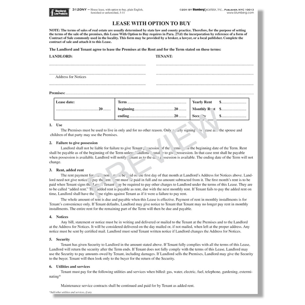 picture about Free Printable Blumberg Lease titled Blumberg Hire - Refreshing York Household Rent Types