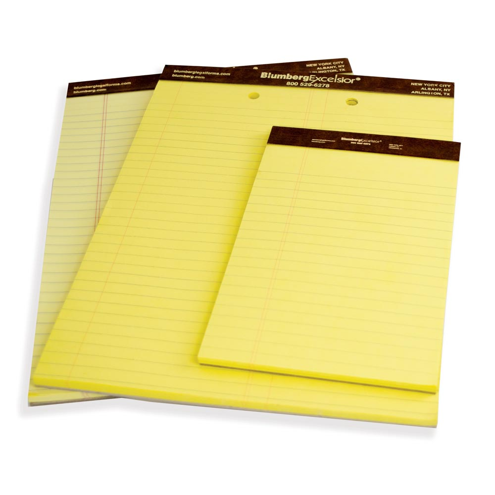 Imprinted Legal Pads