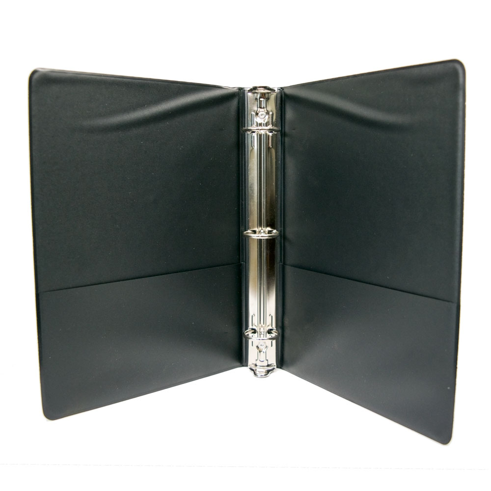 9 5 x 6 black cover ring binders