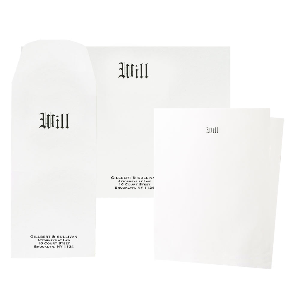 2018 Marketing Special Will Stationery