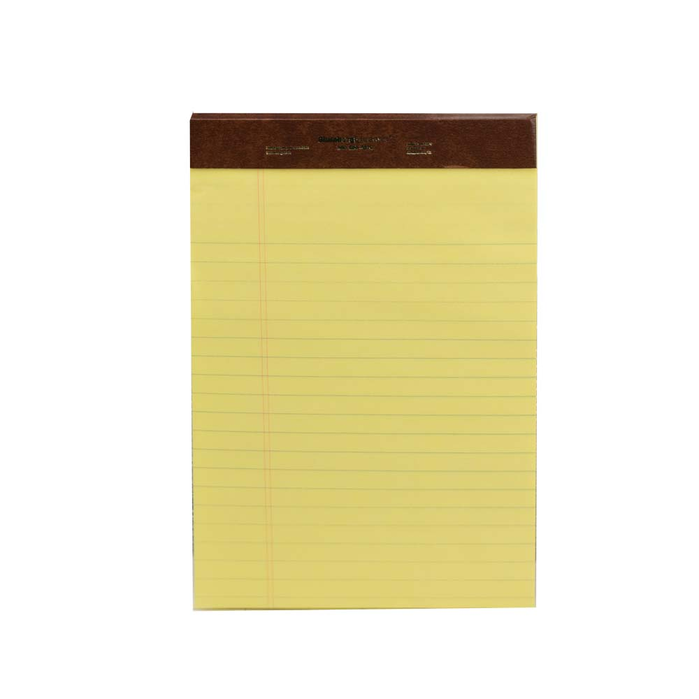 Legal Pads Standard Left Rule Yellow Writing Pads