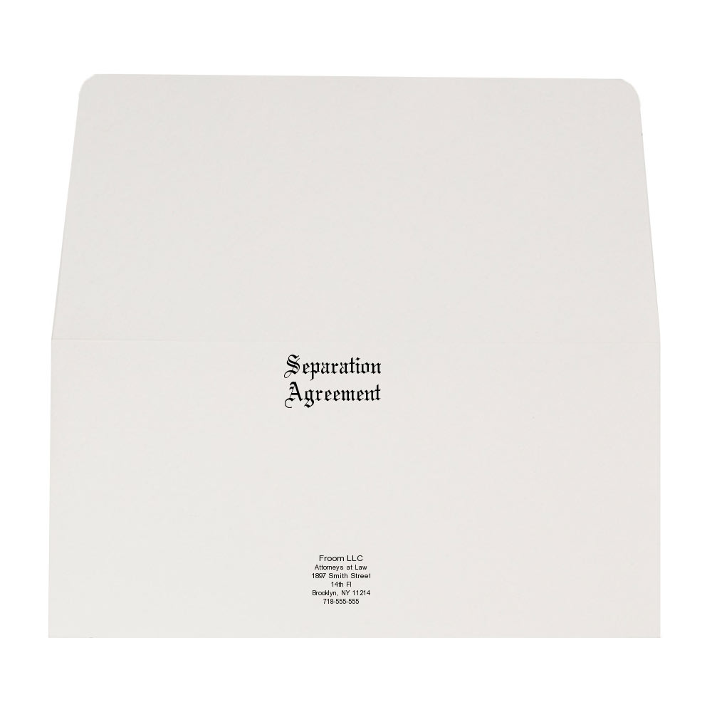 Legal Doculment Envelopes