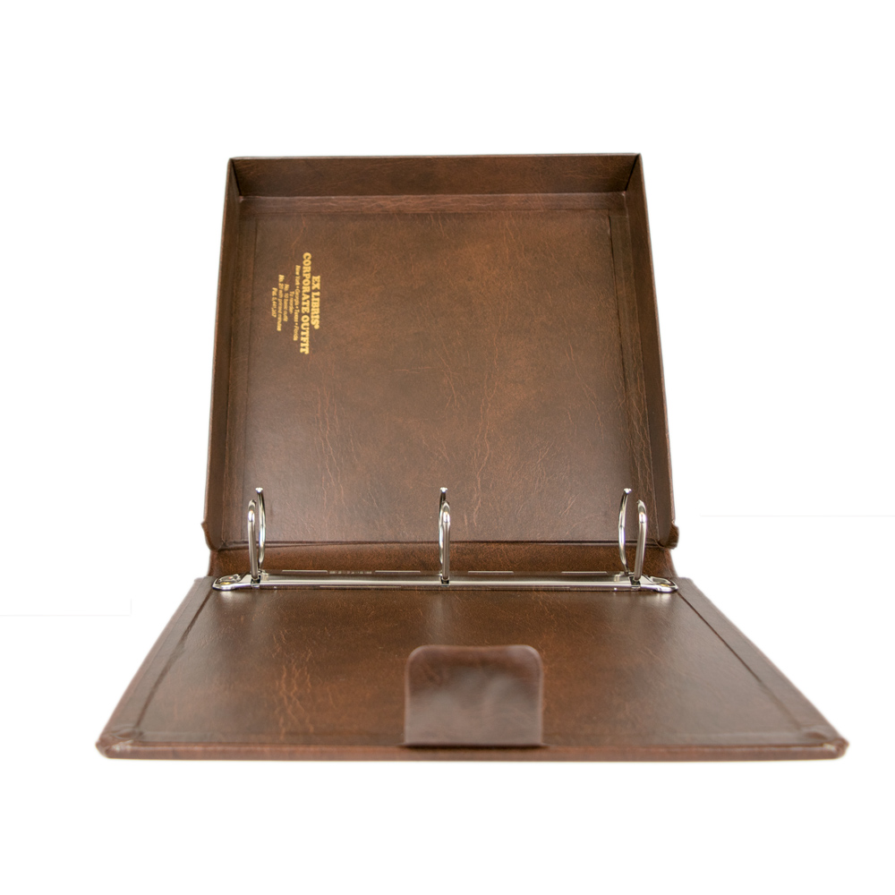 Ex Libris Corporate Kit With Self Enclosed Record Book