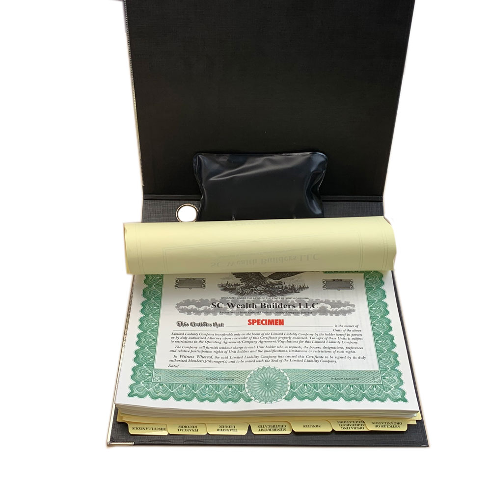 Excela 2-Ring Lever Arch Binder Corporate Kit