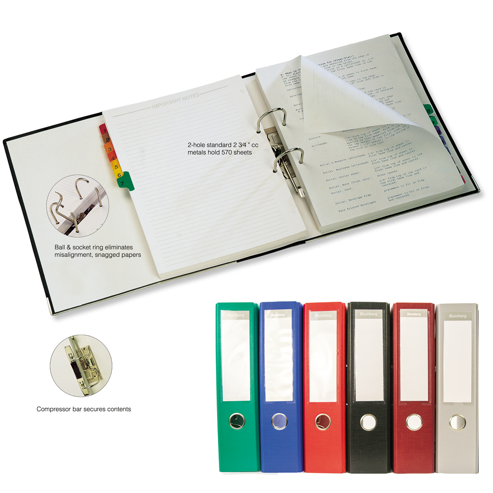 Lever Arch 2-Ring Notebook Binders