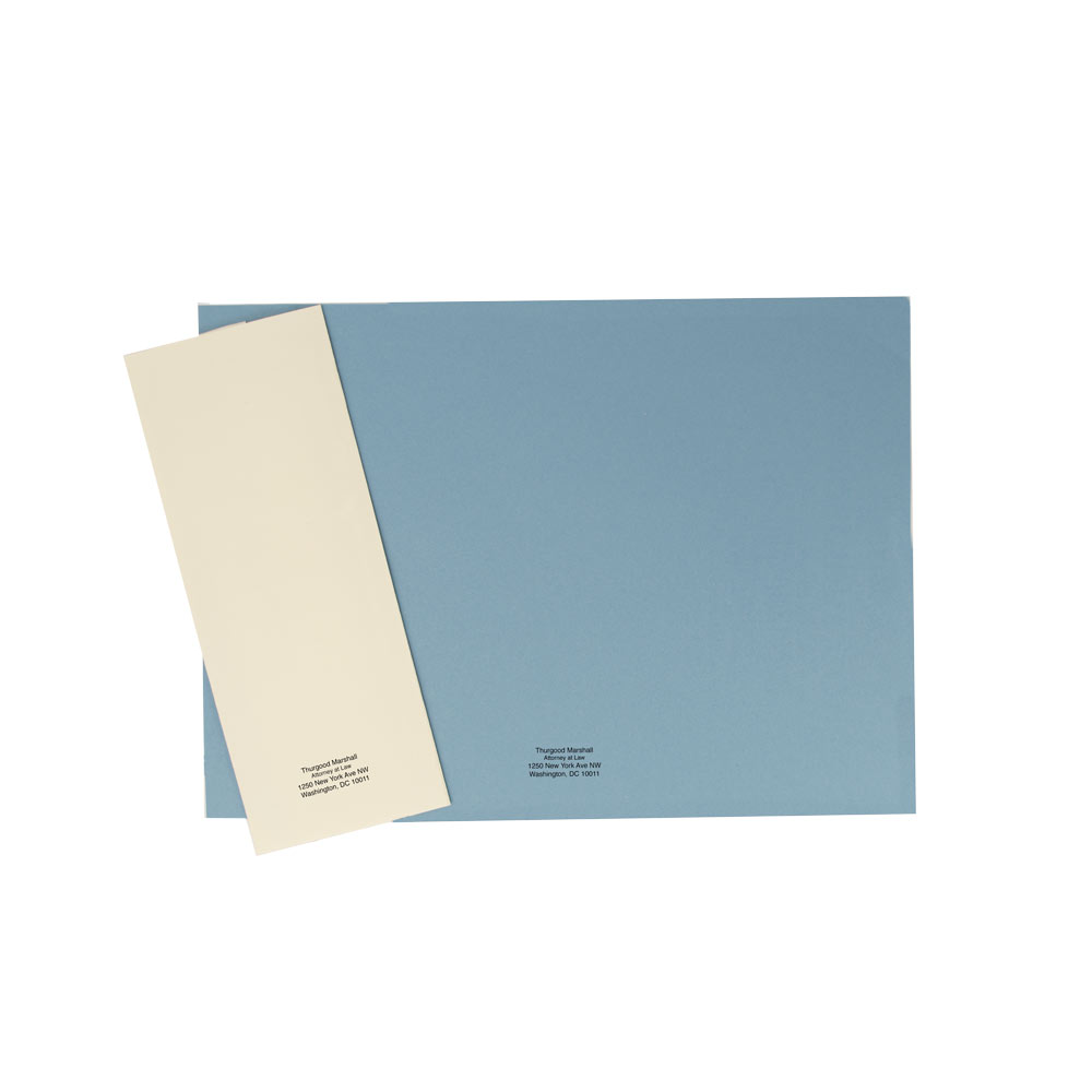 Top-Bound linen Finish Blueback Legal Cover