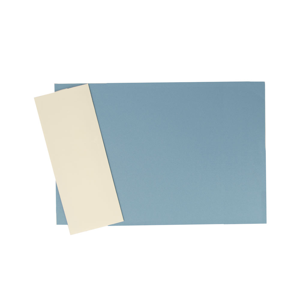 Top-Bound Linen Finish Blueback Legal Covers