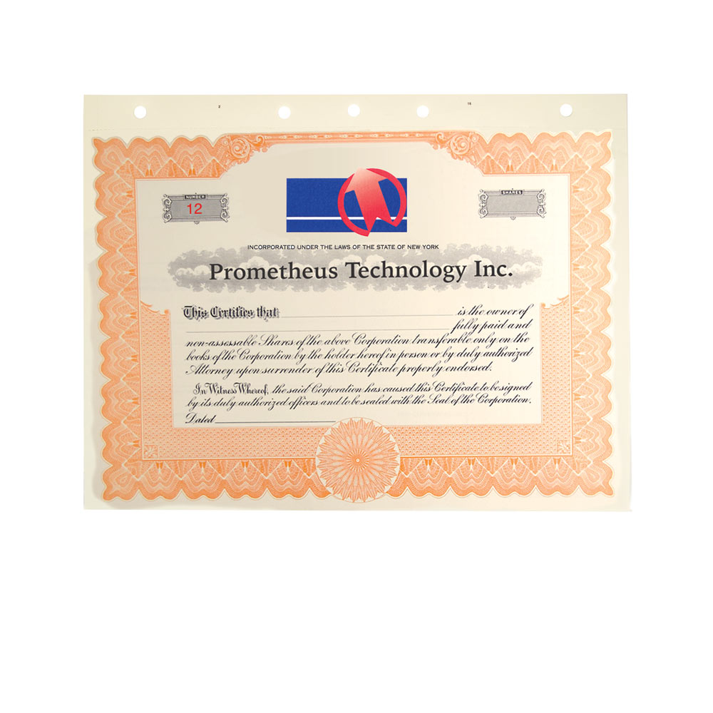 Special Text Certificates