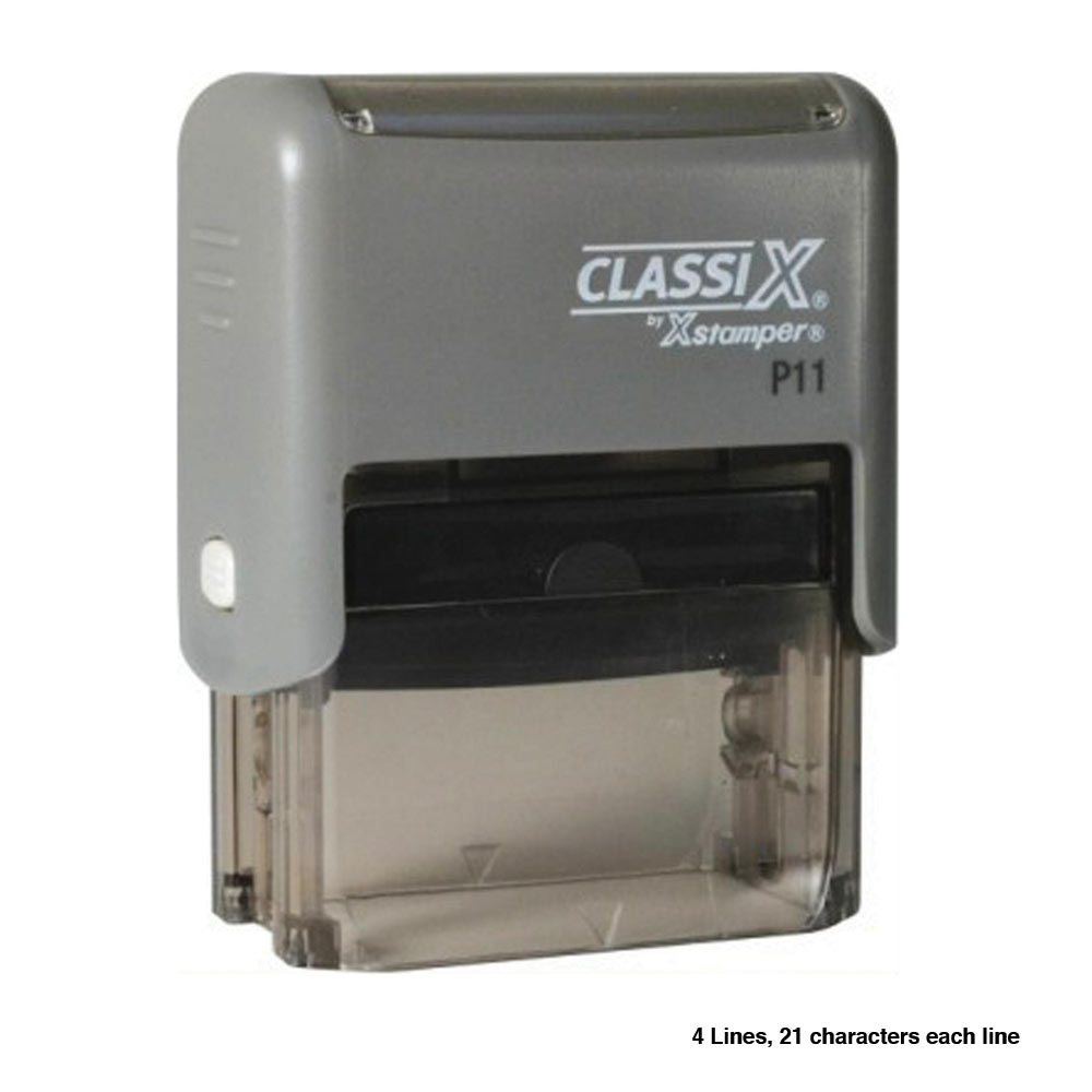xstamper self inking custom signature and pocket stamps