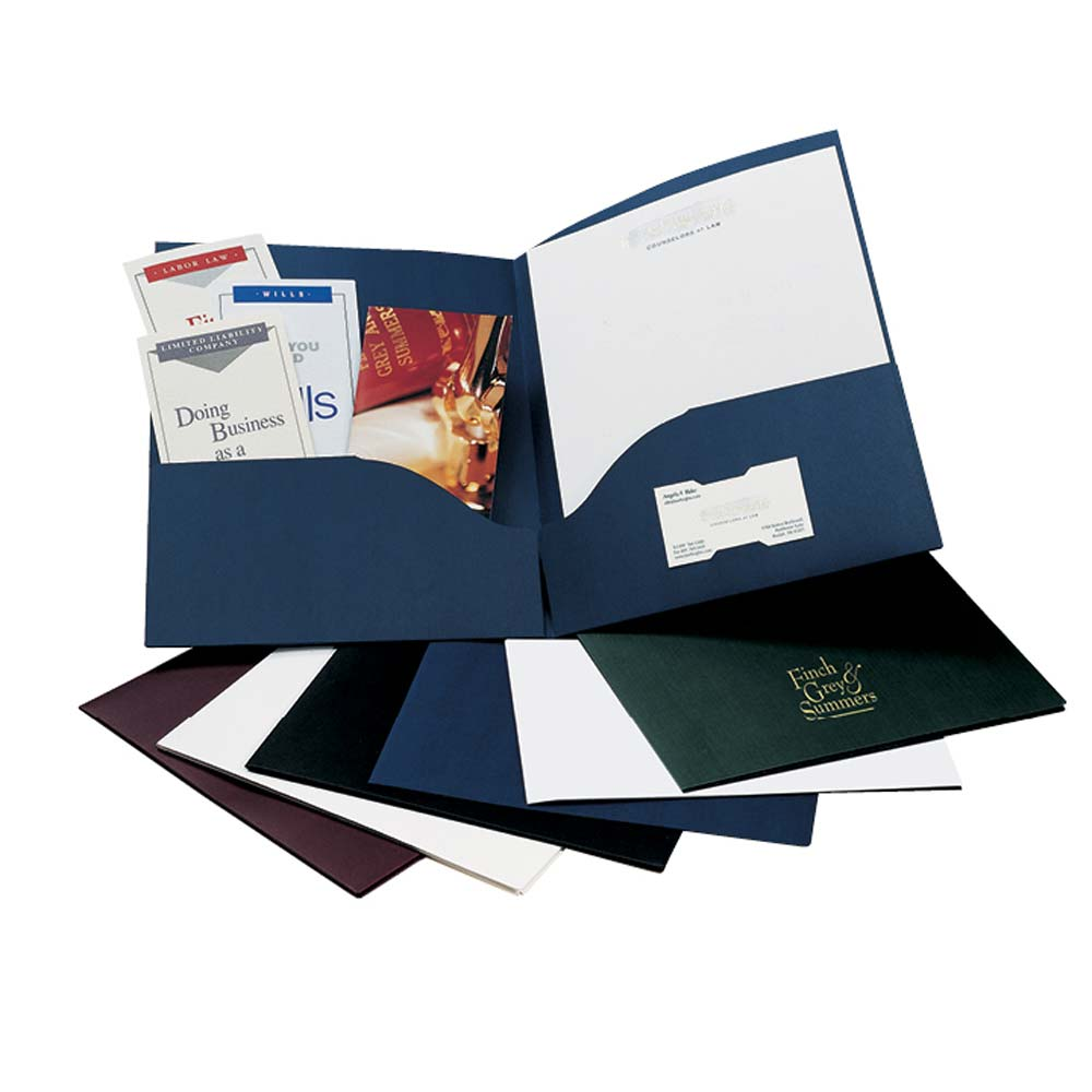 Litera Presentation Pocket Folders