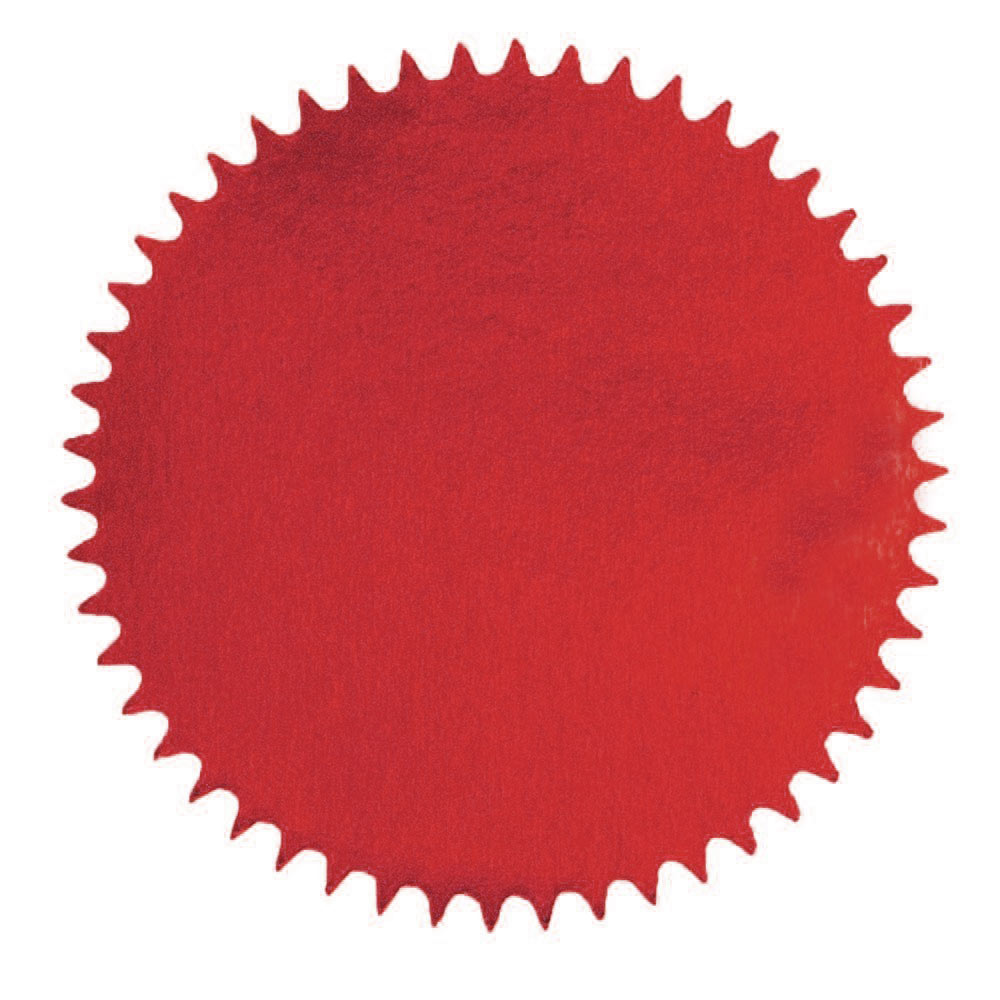 Red Foil Seals for Embossers