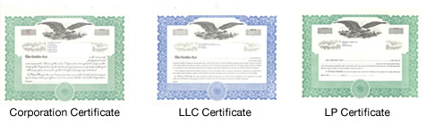 Special Text and Blank Certificates for Ownership and Awards – Blank Share Certificate
