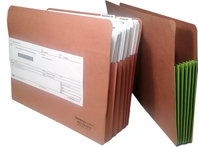 Expandable File Pockets and Legal Office File Folders
