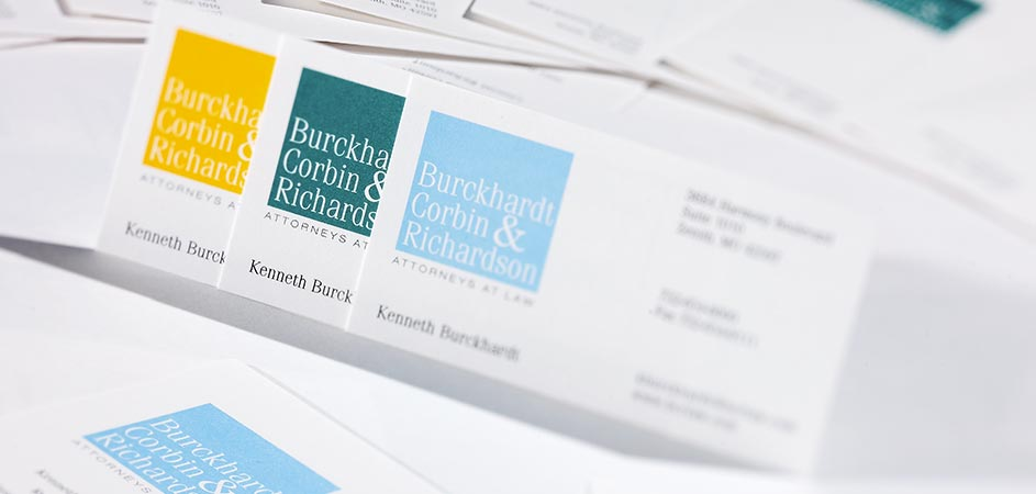 business professional and legal stationery design and printing