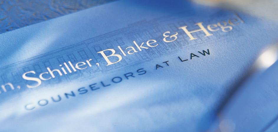 Engraved Stationery for Law Firms