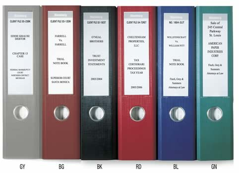 Lever arch 2 ring european style binders for Box file label template word
