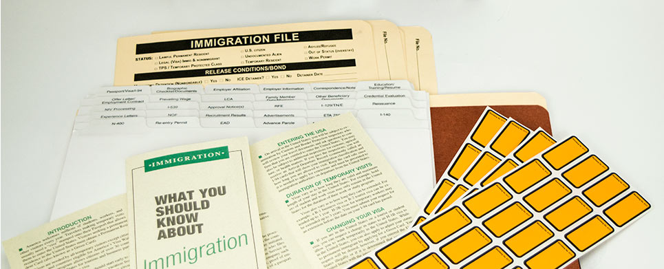 Immigration Practice Products and Supplies