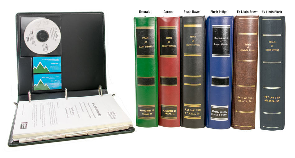Estate Planning and Trust Portfolio Binders