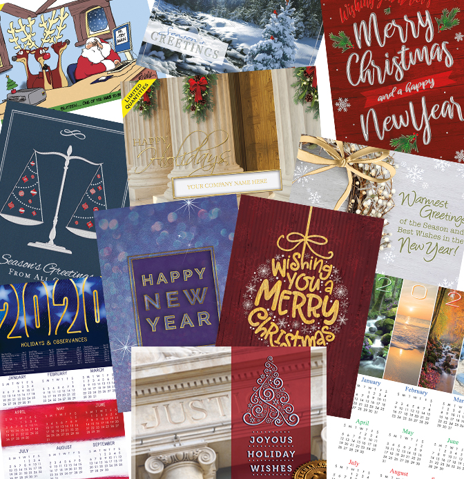 Blumberg Holiday Greeting Cards for Legal Professionals