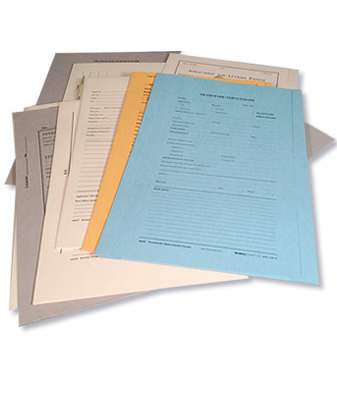 Patent and Trademark Folders and Supplies