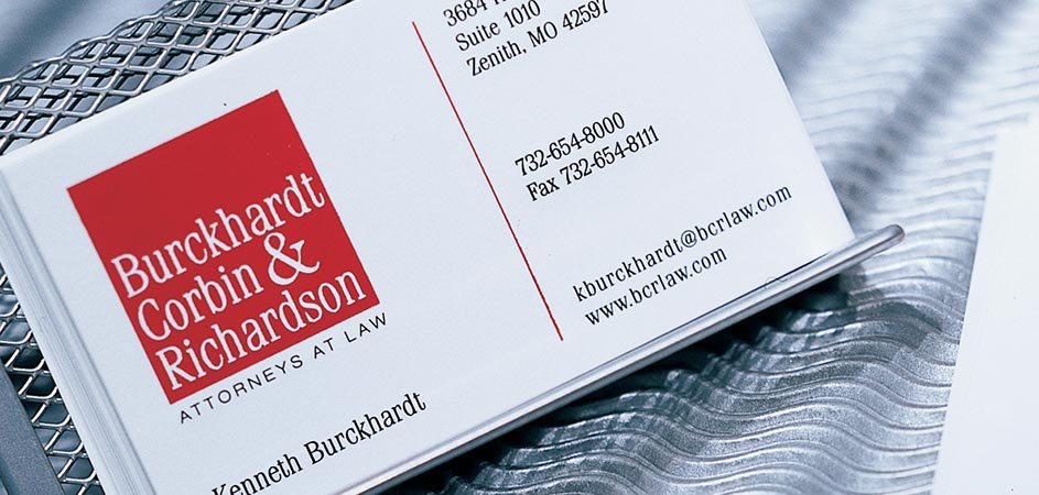 Thermographed business cards colourmoves